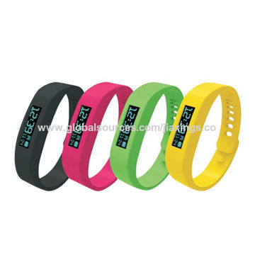 Popular New Bluetooth Wristbands, OEM Orders are Welcome