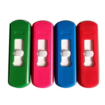 USB interface rechargeable wind-proof lighter