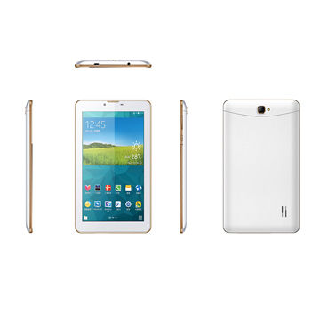 7-inch tablet PC with dual SIM card, dual camera, and dual-core