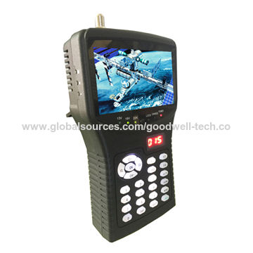 "Portable 4.3""AHD Tester Monitor with Satellite Finders support AHD/TVI/CVI and Analog CCTV Camera"