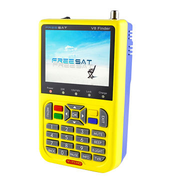 Handheld Digital LCD DVB-S/S2 1080P HD Digital Satellite Finder for Latest Style