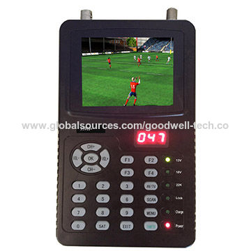 "Made in China 3.5"" Portable Sat Finder with HDMI Output ,support AHD/TVI/CVI CCTV Camera"