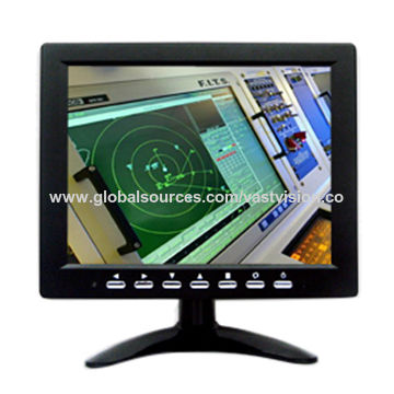 8-inch stand- alone VGA color TFT lcd monitor