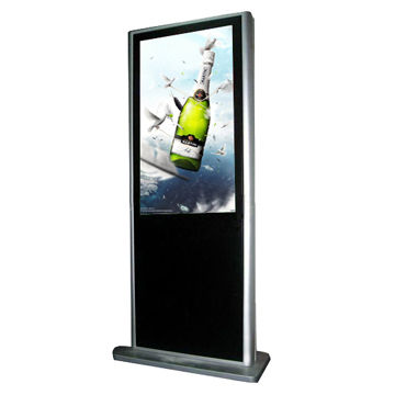 32-inch Network Advertising LCD Digital Signage Kiosk with 1000:1 Contrast