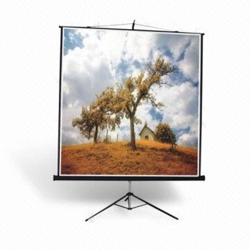 Tripod Screen, Compact and Contracted Design