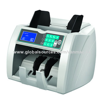 Bill counter with newly quiet counting mechanism and counting speed up to 1800 notes