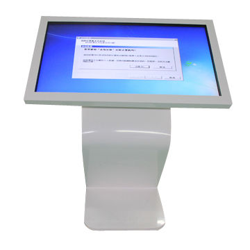 "55"" LED Backlight Wifi TFT IR Touch Screen LCD All in one inbuilt PC Kiosk Display"