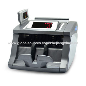 Money Detector with Double Displays UV/MG/IR Discrimination for bank and stores
