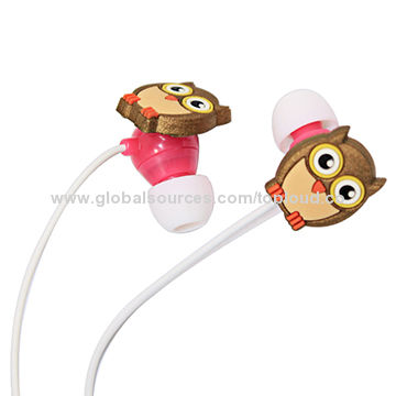 China Manufacturer Cartoon Gift Earphone for Christmas Promotion