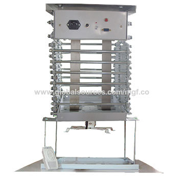Most Powerful CE/RoHS/ETL Motorized Projector, Mount Scissor Lift with Remote Control