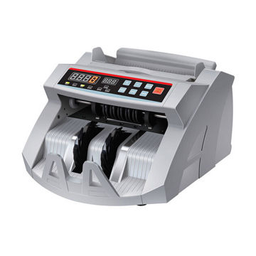 Bill money counter with three-digit LED