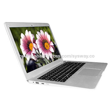 """14"""" cherry trail notebook with Intel CPU up to 1.83GHz, 2+32GB, 1366x768 panel/10,000mAh battery"""