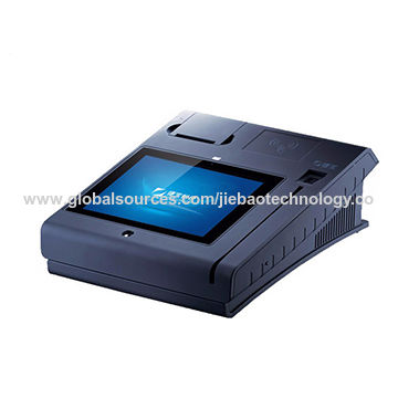 Fast food restaurant pos machine, touch screen, high speed Quad-core CPU,with thermal ticket printer