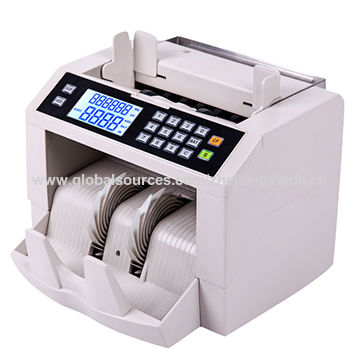 Front loading money counters, new and stylish, fake note detector for banks