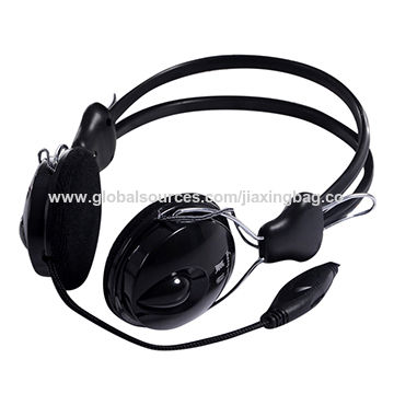 Stereo Wired Headphones for iPhone, Android, Humanized Headband Design with Adjustment Structure