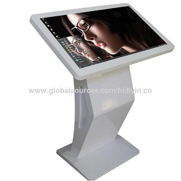 """All-in-one touch kiosk 3840x2160 resolution 55"""" floor standing all-in-one touch kiosk"""