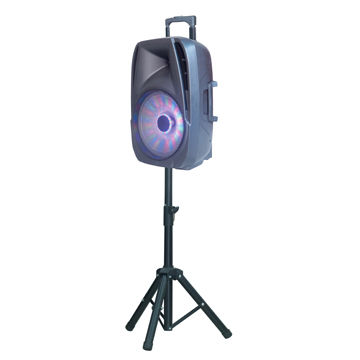 Party speaker with Bluetooth and stand, good sound